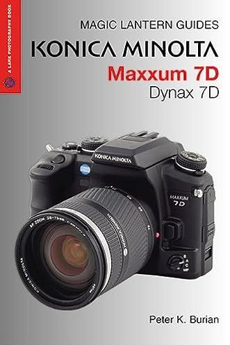 konica minolta maxxum 7d dynax 7d magic lantern guides amazon co rh amazon co uk konica minolta maxxum 7d manual pdf konica minolta maxxum 7d user manual