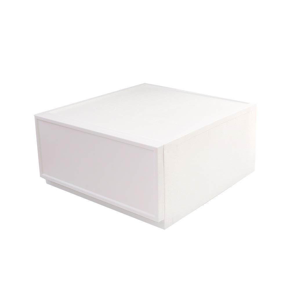 CHenXin ホームシンプルなコンビネーション引き出し収納ワードローブ服収納ボックスプラスチック玩具箱チェスト、180×380×240mm、360×380×185mm ^.^ (Size : 360X390X185mm) B07T9CNQRV  360X390X185mm