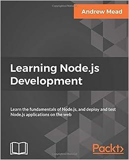 Buy Learning Node js Development: Learn the fundamentals of Node js