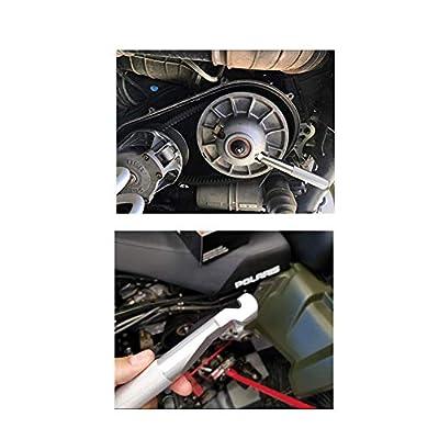 DEWHEL RZR Belt Changing Tool for Polaris RZR 900 S 1000 XP Turbo RZR 800 570 Easy Belt Removal Tools for 2014-2020 RZR XP/XP4 1000 Almost All Polaris RZR models Aluminum (Black): Automotive