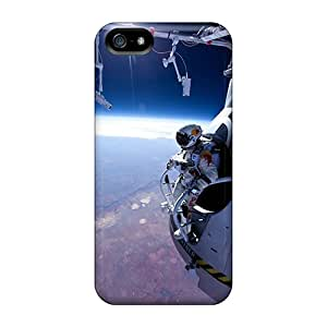 High Quality BebitaDenicofa Felix Baumgartner Space Jump Skin Cases Covers Specially Designed For Iphone - 5/5s