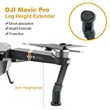 Depstech-DJI-Mavic-Pro-Quadcopter-Drone-3-in-1-Accessories-Kits-Landing-Gear-Leg-Height-Extender-with-Protection-Pad-Lens-Hood-Sunshade-with-Silicone-Cover-Remote-Joystick-Holder-Bracket