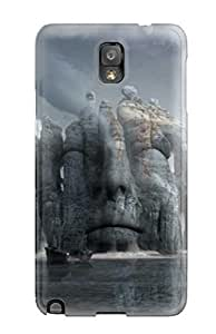 Hard Plastic Galaxy Note 3 Case Back Cover,hot Surreal Art Case At Perfect Diy