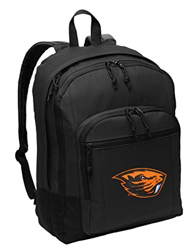 Broad Bay Oregon State University Backpack Classic Style OSU Beavers Backpack Laptop Sleeve