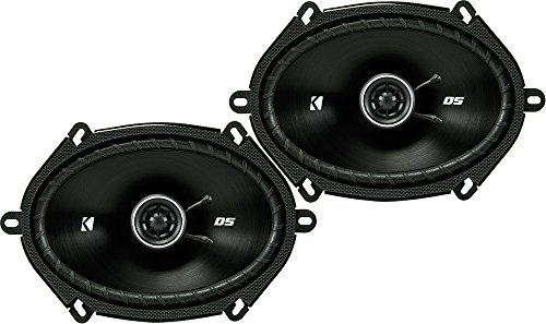 X 200 Series (Kicker 43DSC6804 D-Series 6x8-Inch 200W Speakers Pair)
