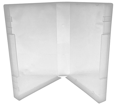 (25) CheckOutStore Plastic Storage Cases for Wood Mounted Rubber Stamps (Clear/Spine: 35 mm)