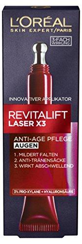 L'Oréal Paris RevitaLift Laser X3 Augenpflege, 1er Pack (1 x 15 ml)