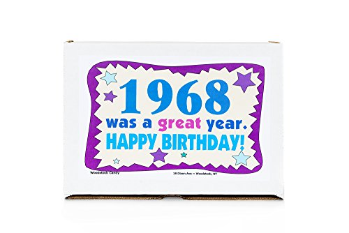 Woodstock Candy 1968 50th Birthday Gift Box Nostalgic Retro Candy