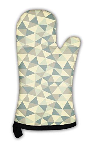 - Gear New Oven Mitt, Abstract Geometric Pattern, GN817708