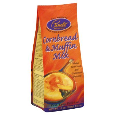 Pamela'S Corn Bread Muffin Mix 12 Oz (Pack of 6) - Pack Of 6