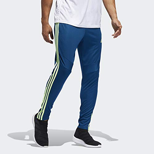 adidas Men's Soccer Tiro 19 Training Pant, Legend Marine/Hi-Res Yellow, X-Large