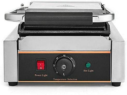 Table de gril à contact 3-en-1 1800W, température librement réglable via un régulateur coulissant