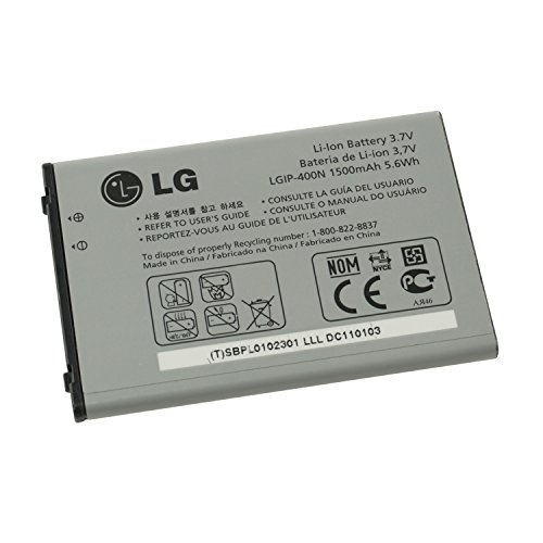 Battery LG LGIP-400N original GM750, GT540, GW620, GW800, GW820, GW880 P500 Optimis One Li-Ion 1500mAh