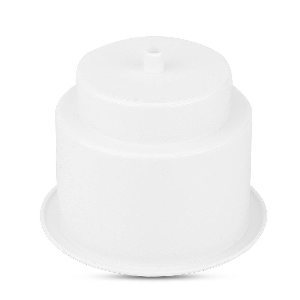 Porte-Gobelet Universel, Keenso Support de Bouteille d'Eau Porte-gobelet de Rangement avec Trou de Vidange pour Bateau Voiture en Plastique(Black)