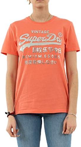 Superdry PG Metallic Entry koszulka damska: Sport & Freizeit