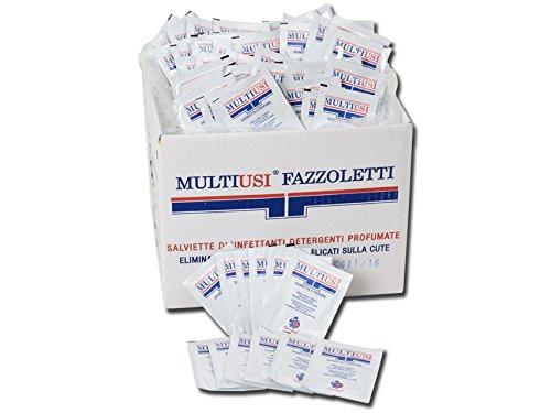 Multifunctionele desinfectiedoeken, actief tegen bacteriën, reinigt grondig en ruikt de huid, doos met 400 afzonderlijke…