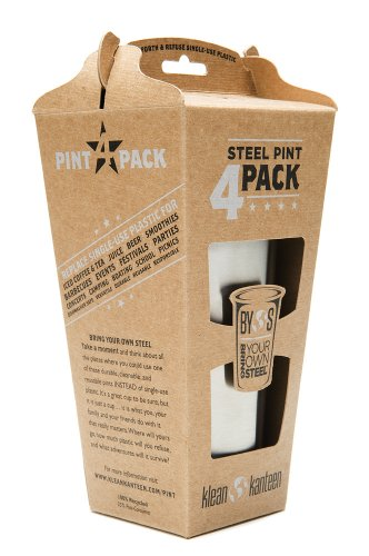 16oz Pint Cup 4-Pack