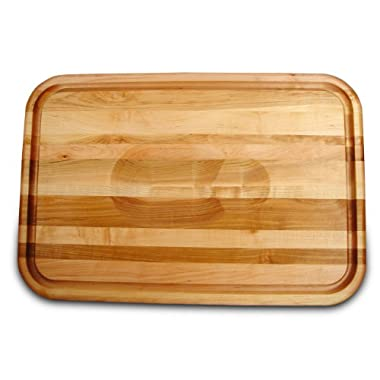 Catskill Craftsmen 24-Inch Versatile Meat Holding Cutting Board with Wedge/Trench