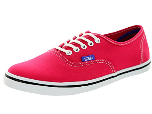Vans Unisex Authentic  Lo Pro (Pop) Rose Red/Purple Iris Men's 7.5, Women's 9 - Authentic Cheap Vans