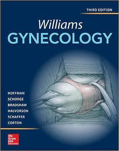 williams gynecology third edition