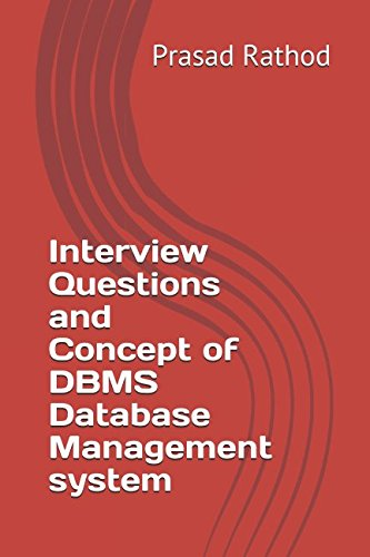 Interview Questions and Concept of DBMS Database Management system
