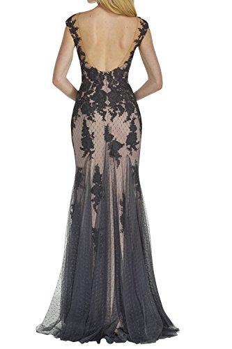Spitze Ballkleider Festlich mia Partykleider Brautmutterkleider Abendkleider Fuer La Braun Lang Hochzeits Meerjungfrau Braut wq1txCWCgY