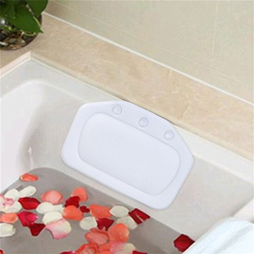Bath Pillow, iFanze Spa Bathtub Pillow with Suction Cups