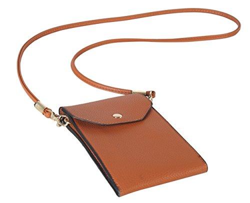 PU Mint Weight Body LI 3850 Wallet Purse Cross Diophy Leather Light Handbag Smartphone Cellphone TqtxOxw4d