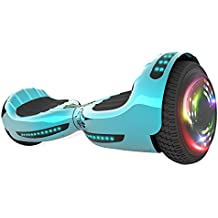 """Hoverboard UL 2272 Certified Flash Wheel 6.5"""" Wireless Speaker with LED Light Self Balancing Wheel Electric Scooter"""