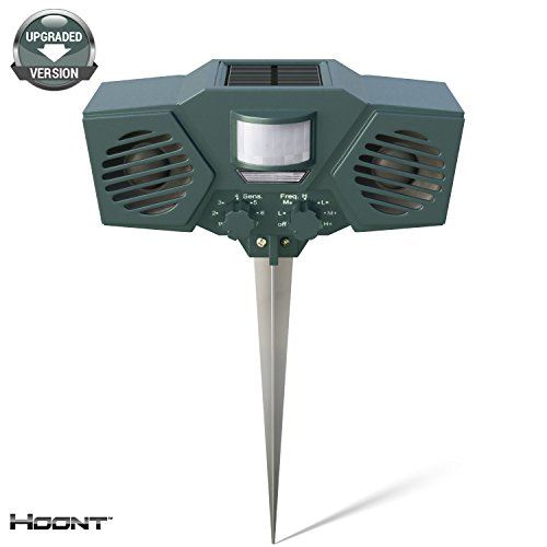 hoonttm-powerful-solar-battery-powered-ultrasonic-outdoor-animal-pest-repeller-motion-activated-upgr