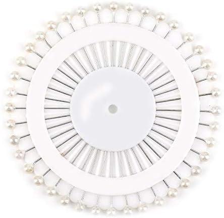 fghdf 480pcs Multi Colour Round-Head Faux Pearl Decorating Pin Dressmaking Pin
