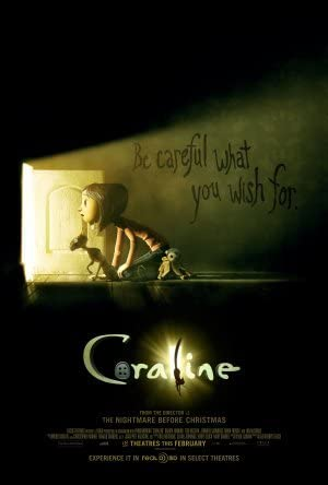 Image result for coraline film poster