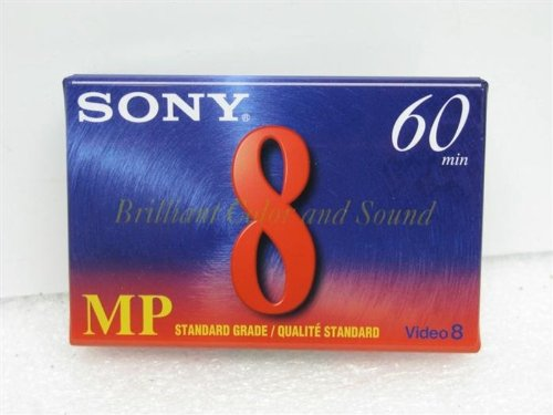 Sony P6-60MPD 60 Minute Video 8 Tape (10 Pack)