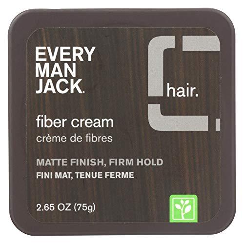 - Every Man Jack Fiber Cream, Fragrance Free, 2.65 oz