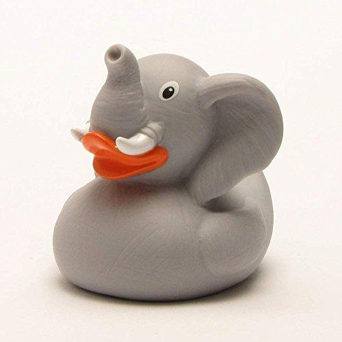 Éléphant Canard de bain | Canard de plastique | Duckshop | Rubber Duck | Bath Duck | L: 8,5 cm