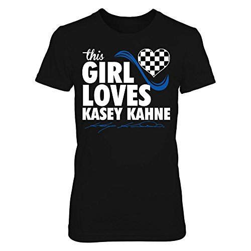 This Girl Loves - Kasey Kahne - District Women's Premium T-Shirt - Officially Licensed Fashion Sports (Kasey Kahne Number)