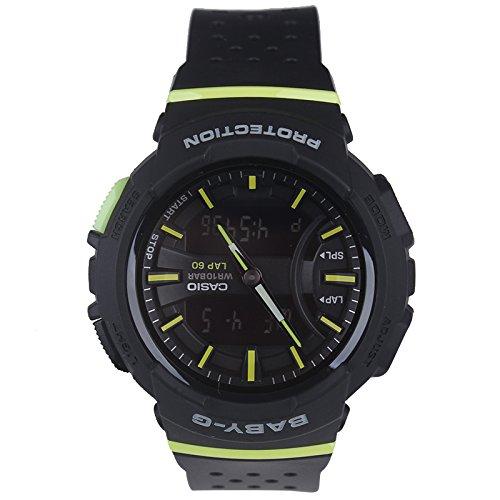 Casio Baby-G BGA-240 Two-Tone Series Black Green Watch BGA240-1A2