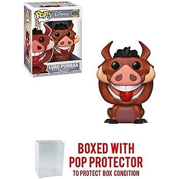 Compatible PET Plastic Graphical Protector Bundle #500 // 36413 - B Disney Vinyl Figure /& 1 POP Funko Luau Timon: Lion King x POP