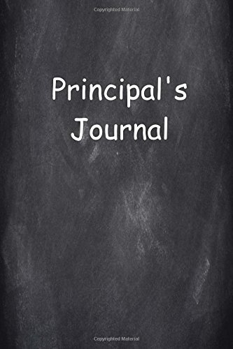 Principal's Journal: (Notebook, Diary, Blank Book) (Educational Cover Journals Notebooks Diaries) PDF