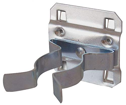 Steel Extended Spring Clip, Hanging Mounting Type, Silver, Finish: Bright Zinc pack of 5