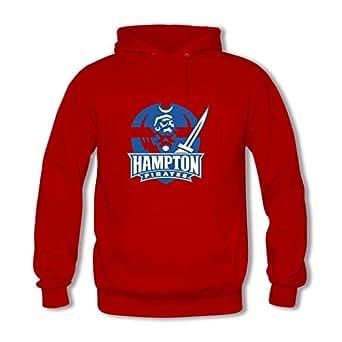 Amazon.com: Hampton University Seal Red Pullover Hooded