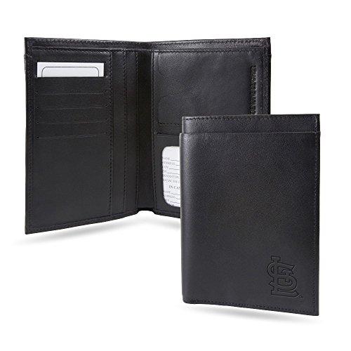 St Louis Cardinals RFID Blocking Traveling Passport Leather Wallet