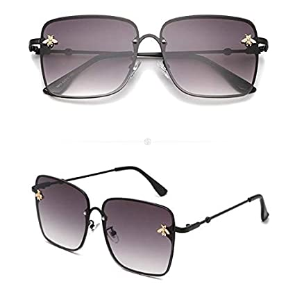 YUHANGH Gafas De Sol Grandes con Montura De Mujer Lente ...