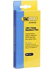 Tacwise 478 Type 180/15mm 18G Headless Pins - (Doos 2000), Zilver