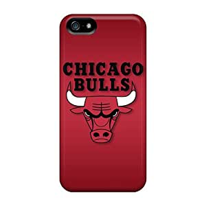 Sanp On Case Cover Protector For Iphone 5/5s (chicago Bulls)