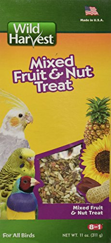 Wild Harvest Mixed Fruit And Nut Treat For All Birds ()