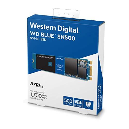 WD Blue SN500 500GB NVMe Internal SSD - Gen3 PCIe, M.2 2280, 3D NAND - WDS500G1B0C by Western Digital (Image #3)