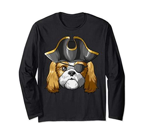 Pirate Shih Tzu Pirates Hat Shih Tzu Long Sleeve T-Shirt