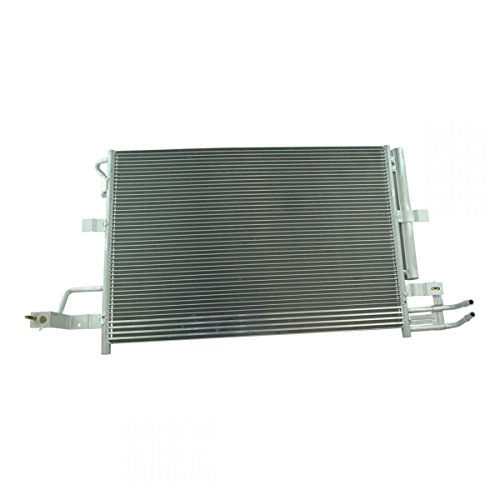 AC Condenser A/C Air Conditioning w/Receiver Dyer & Trans Cooler for Ford