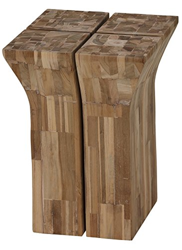 Bare Decor Krisna Mosaic End Table / Stool